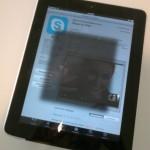 Šedý zákal iPadu
