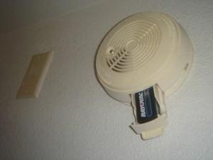 Detektor dymu s batériou